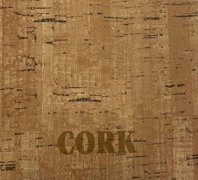 cork debossed