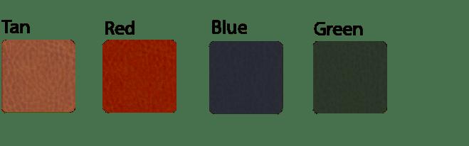 leatherette menu cover colors