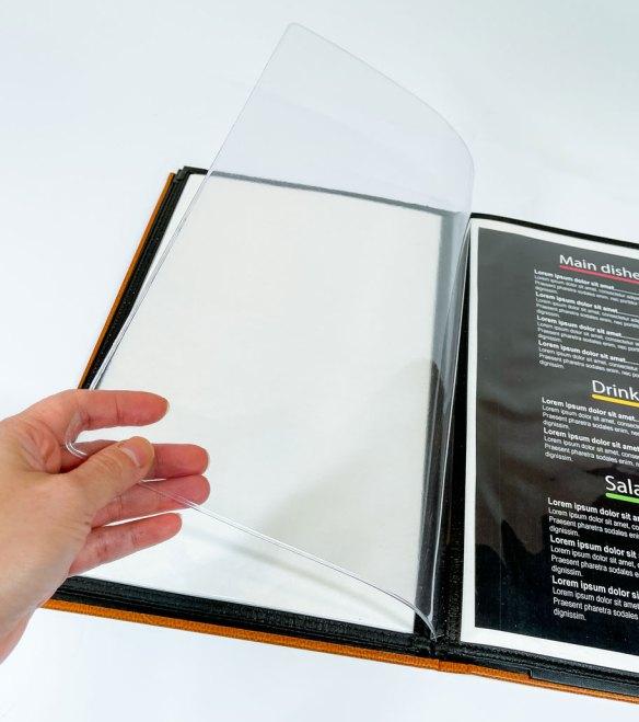 Add a page menu insert
