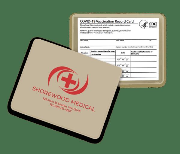 bone color vaccination card