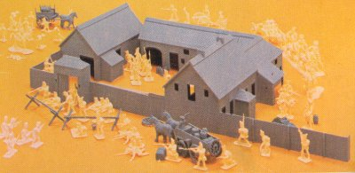 Plastic Soldier Review Airfix Waterloo Accessories
