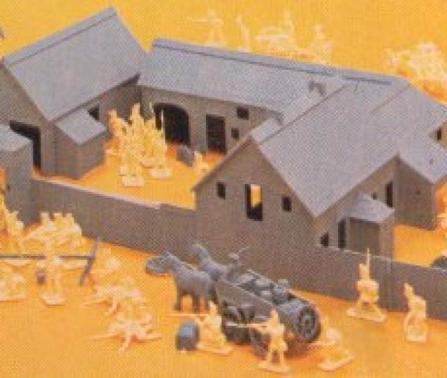 By Producing Battlesets Which Normally Include Figures Plus Either Vehicles Or Some Other Form Of Accessory Such As A Fort Airfix Had Already Produced