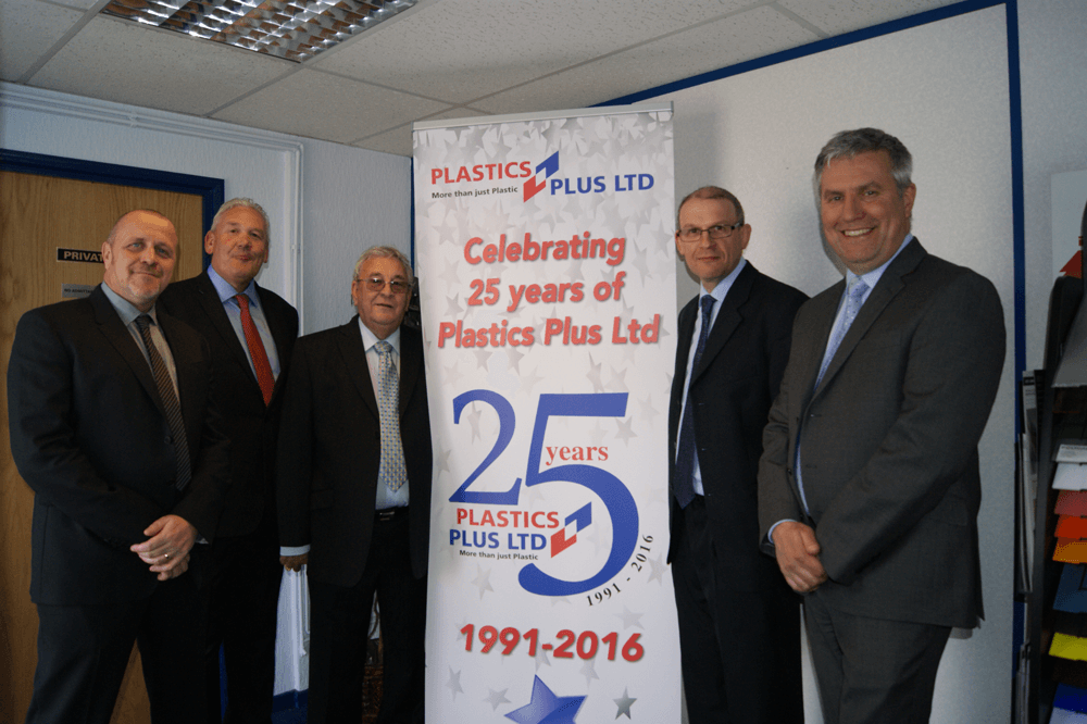 PLASTICS PLUS CELEBRATES 25 YEARS IN UK DISTRIBUTION