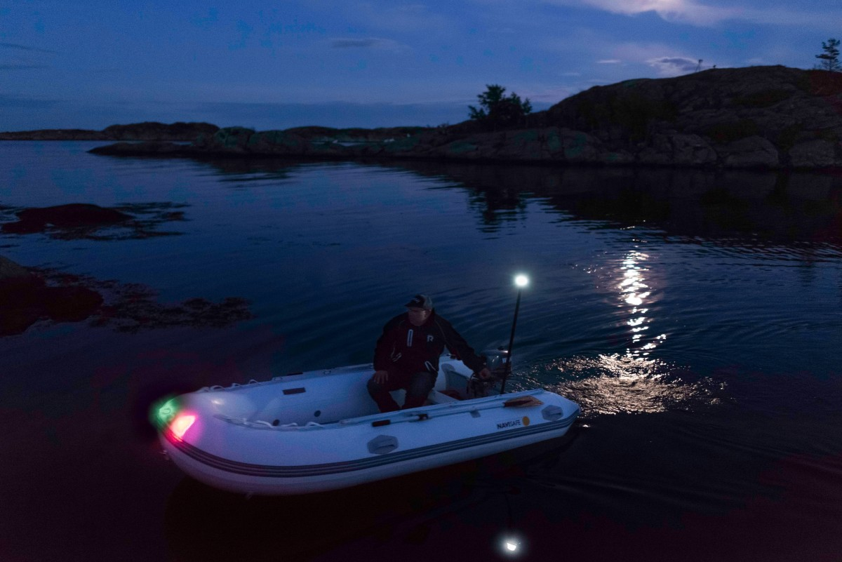 Navilight Pack For Rib Or Inflatable Tender Navi Light And Supports Navigation Lights