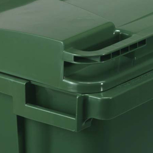 Large Wheeled Bin 770 Litre with 4 Wheels  Plastic