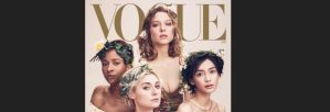 Say What? Adesua Etomi-Wellington Dazzles On Cover Of American Vogue