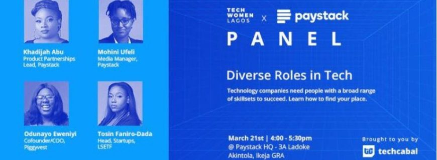 Tech Women In Lagos Speak On Diverse Roles In Tech