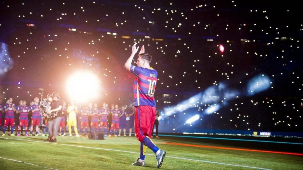 Messi 21st century football
