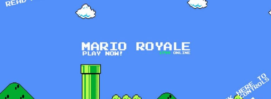Play Free Battle Royale Version Of Nintendo's Super Mario Bros Game Before It Shuts Down