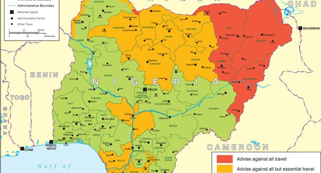 uk-warns-citizens-against-travelling-to-21-states-in-nigeria