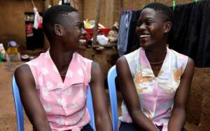Kenyan Twins Reunite After Being Separated At Birth For 20 Years