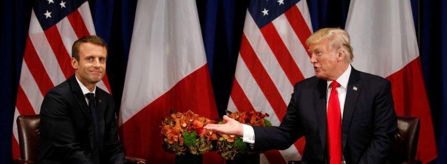 Trump Macron Tax
