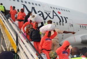 163-stranded-nigerian-migrants-return-from-libya