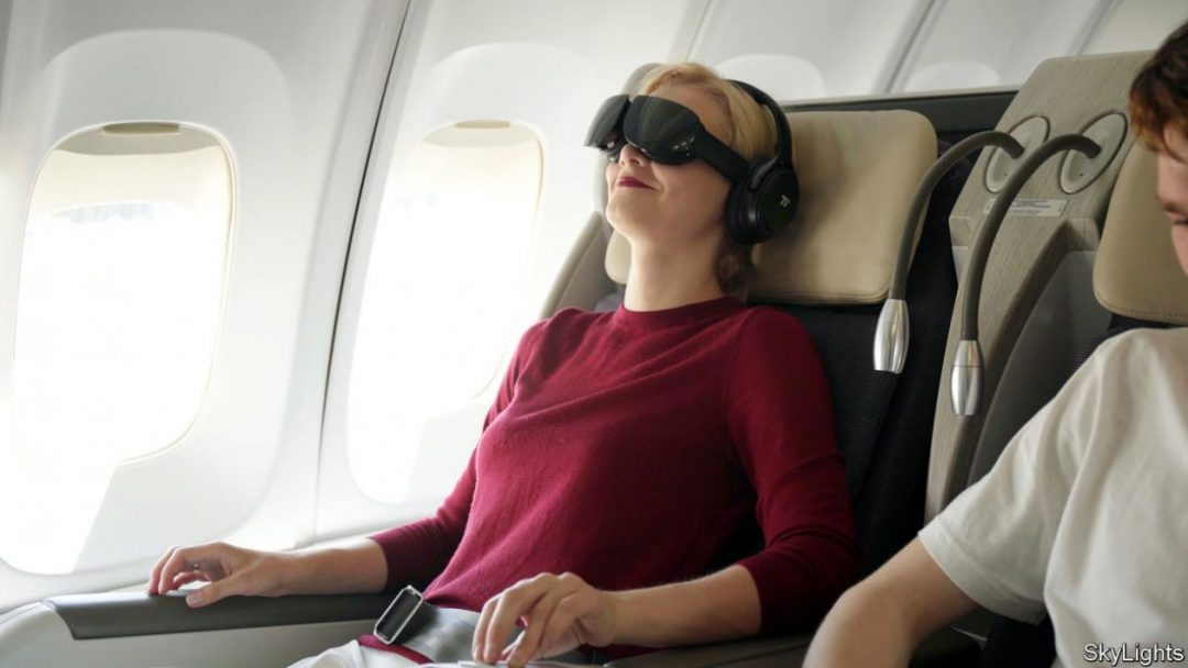 British Airways Inflight Entertainment VR Flight