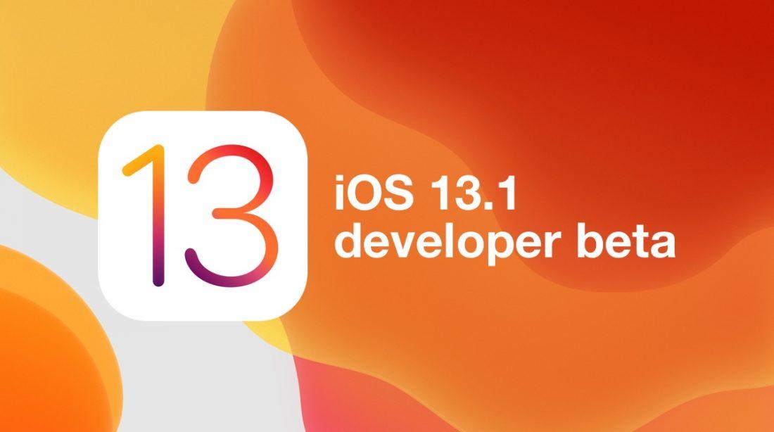 Apple iOS 13.1
