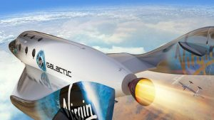 Virgin Galactic Reveals First Space Tourist Lounge