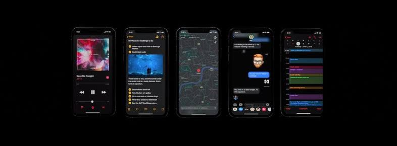 Apple iphone iOS 13 features