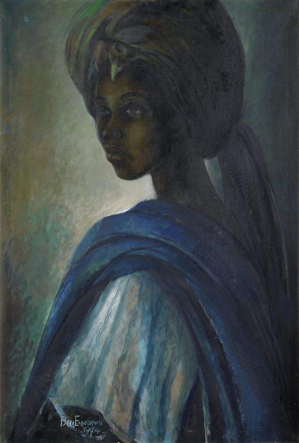 Ben Enwonwu Tutu painting