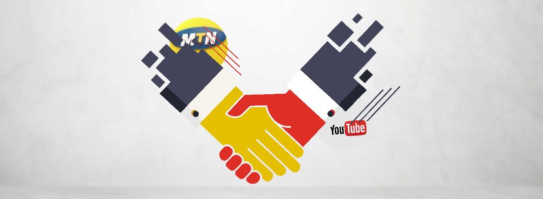 YouTube MTN partnership
