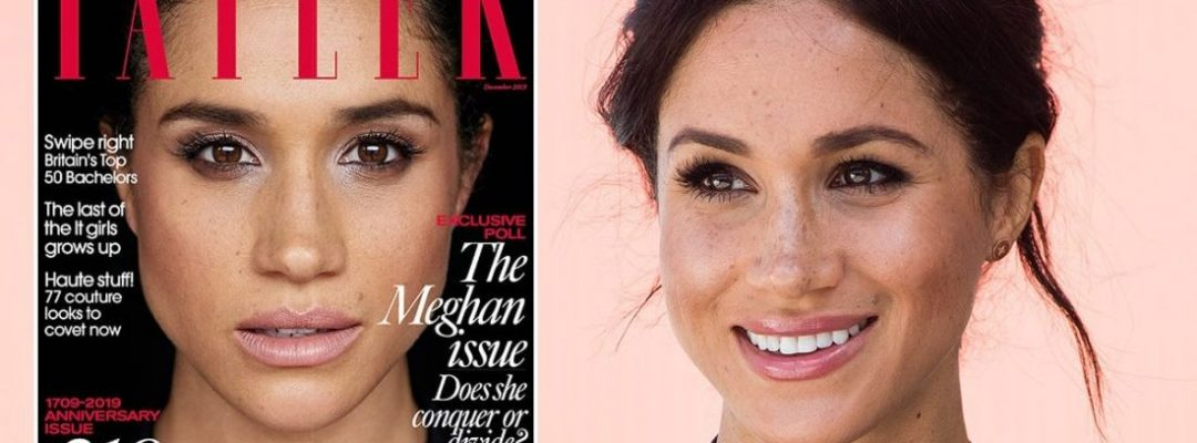 Meghan Markle on Tatler cover