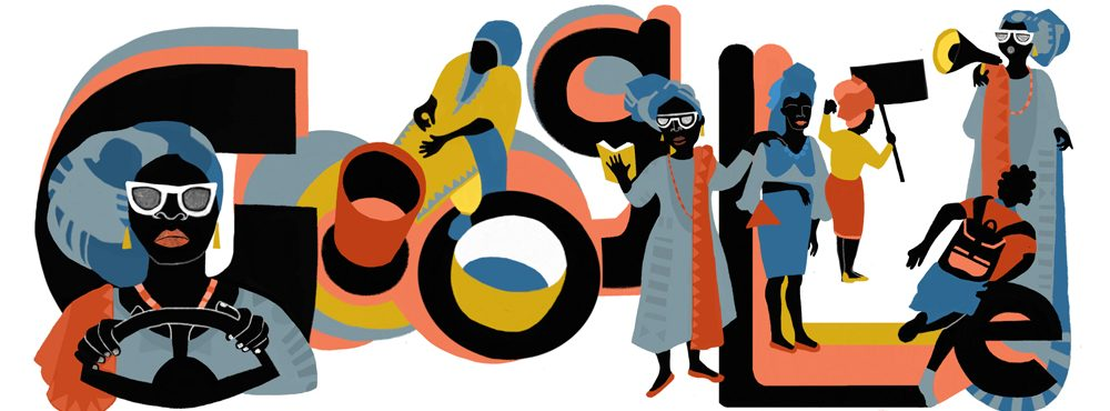 funmilayo-ransome kuti google doodle