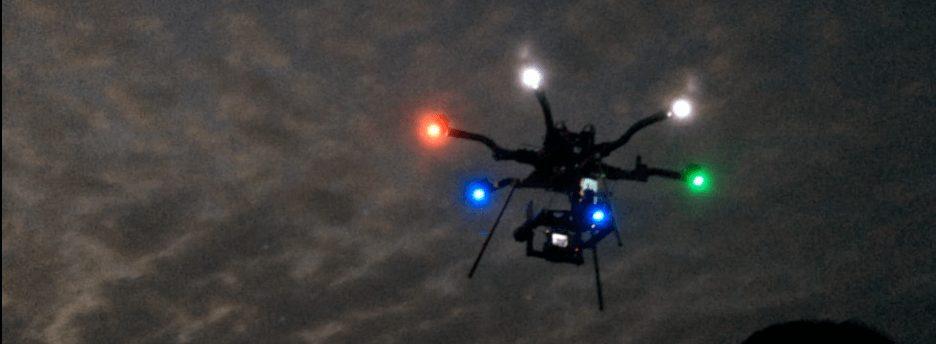 Swarm of drones Colorado