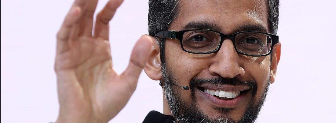 Sundar Pichai, CEO of Alphabet