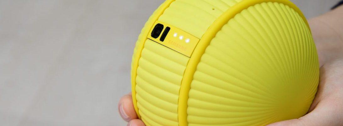 Samsung Unveils Ballie, A Tennis Ball Like Robot That Follows Its Owner