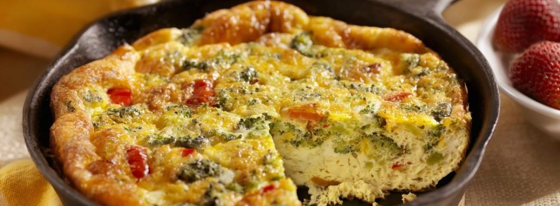 See How To Prepare A Sumptuous Plate Of Plantain And Egg Frittata
