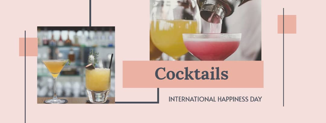 International day of happiness cocktails