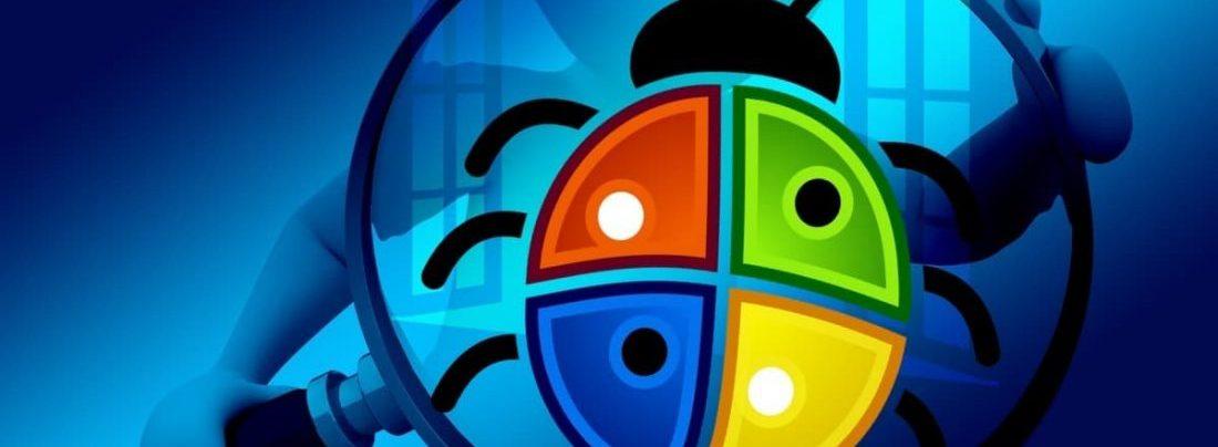 Microsoft bug
