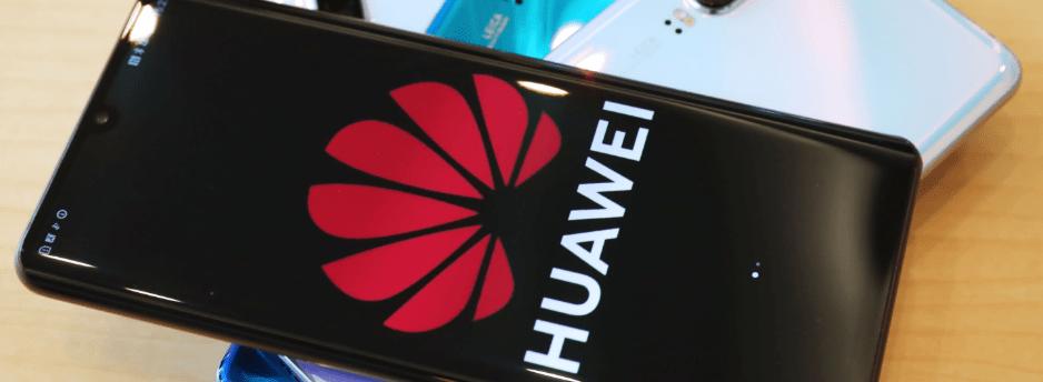 Huawei lost smartphone