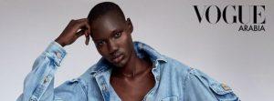 From Grass To Fame: Vogue Arabia Captures Refugee Turned Star Model Eman Deng's Story