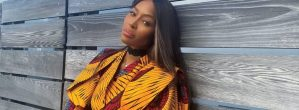 Naomi Campbell Styles Herself In Ankara For The Cover of Essence's 50th Anniversary Issue