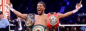 Anthony Joshua Becomes The Second Richest Young Sportsperson In The UK
