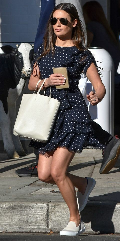 Polka dot style is one of fashion's biggest boomerangs; it always makes a comeback every season. What's even more interesting is this style is always a standout