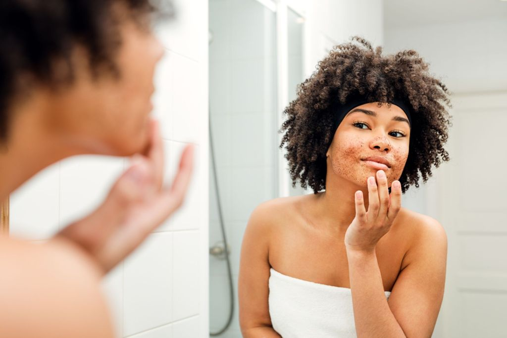 Four Things That Happens To Your Skin When You Over-Exfoliate