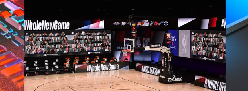 NBA Partners With Microsoft Teams Bringing Together Mode To Fans