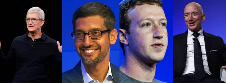 Why Are Cook, Zuckerberg, Sundar Pichai And Bezos Appearing Before Congress?
