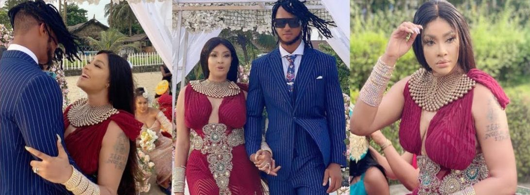 Angela Okorie's Wedding Photos Are From Her New Music Video