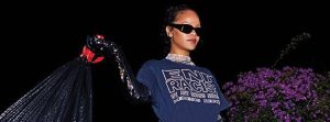 Rihanna Puts A Fashionable Twist To Chores As She Covers Harper's Bazaar, September Issue