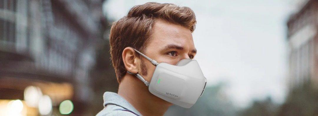 LG Air-purifying mask