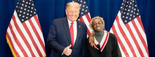 Lil Wayne Backs President Trump For Re-election After Closed-door Meeting