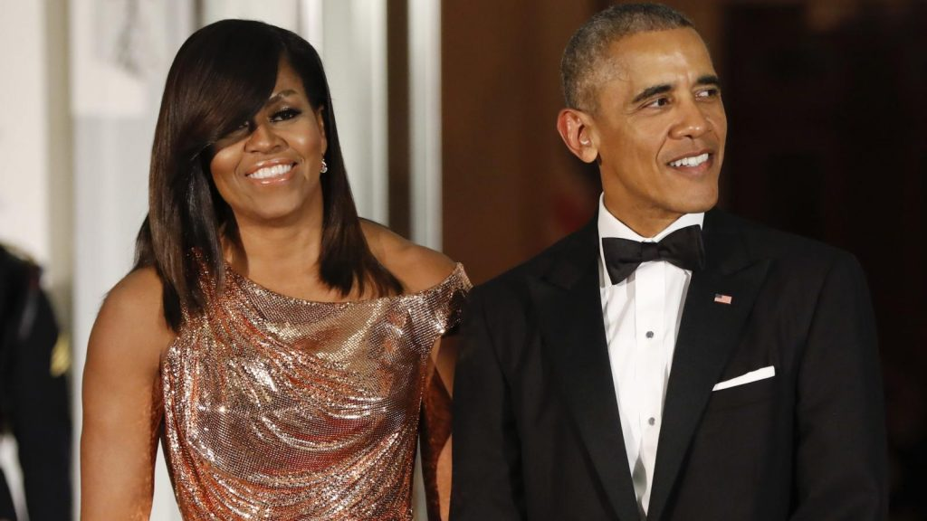 Barack Obama And Wife Michelle Celebrates 28th Wedding Anniversary