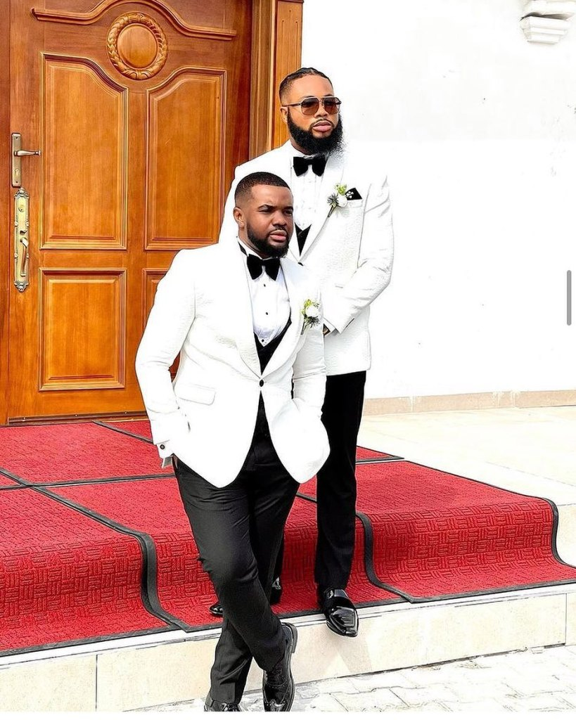 See Photos From Williams Uchemba And Brunella Oscar Church Wedding
