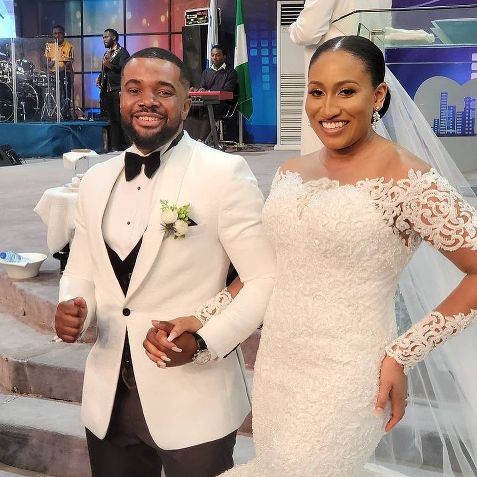 See Photos From Williams Uchemba And Brunella Oscar's Church Wedding