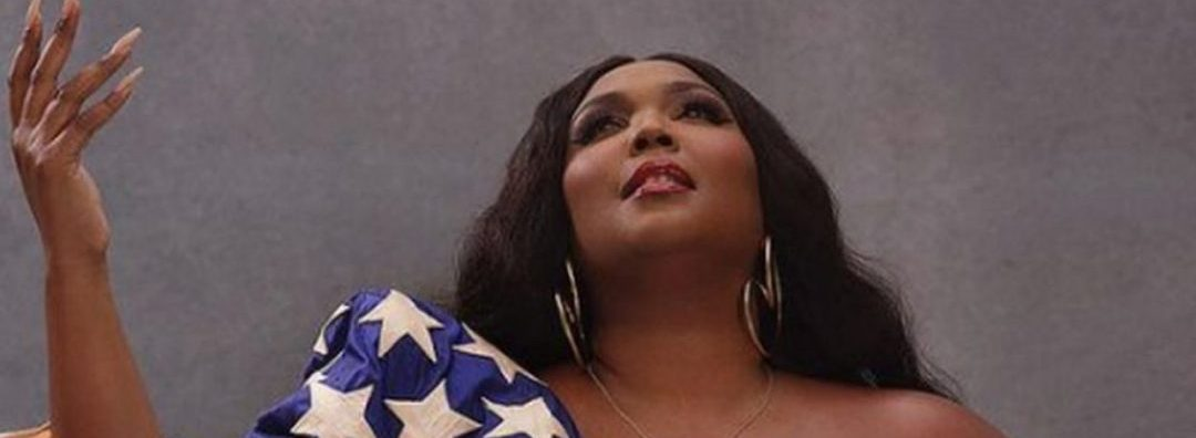 Lizzo Poses Half-N*de As She Delivers Powerful Voting Day Message