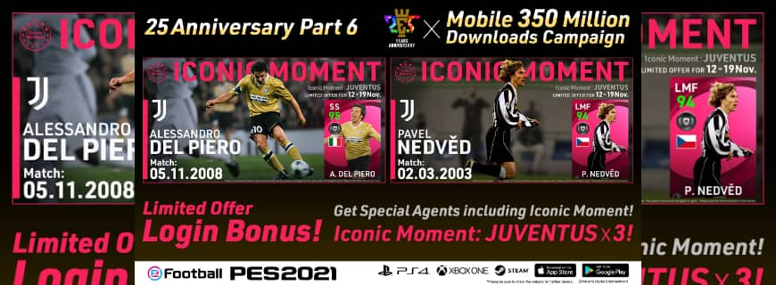 PES Announces Surpassing 350 Million Mobile Downloads For eFootball PES