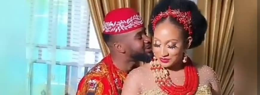 """""""Holy Spirit Told Me He's My Husband:"""" Williams Uchemba's Wife, Brunella Oscar Narrates How They Met"""