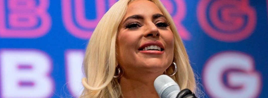 Lady Gaga Talks About Her Ex As She Campaigns For Joe Biden
